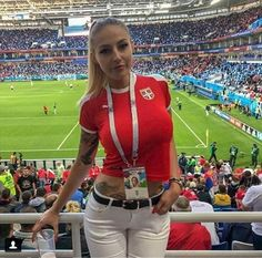 The Most Beautiful And Sexy Girls In World Cup 2018 in Russia, Which Attracted All Attention To Themselves - Entertainment - PersianUp Hot Football Fans, Football Girls, Girls Soccer, Soccer Fans, Soccer Usa, Soccer League, Hot Fan, Russia 2018, Sport Girl