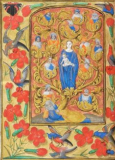 Book of Hours Netherlands, ca. 1494 MS M.1078 fol. 112v http://ica.themorgan.org/manuscript/page/34/76940