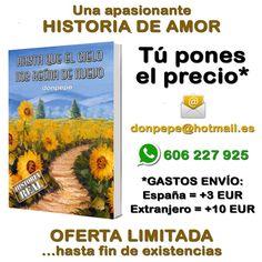 ¡OFERTA LIMITADA! http://nosvemosenelcielo.blogspot.com.es/