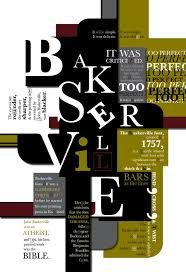 baskerville design with color
