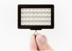 Pocket Spotlight is a smart phone camera flash. Waaaay better than the one on your phone. Trust us!