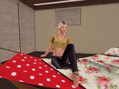 Second Life, Architecture Art, Beauty, Beauty Illustration