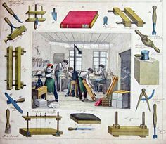 BOOKTRYST: A Bookbinding Workshop In 1840