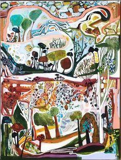 A Tender Landscape  1000 x 750  Mixed Media
