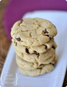 Cream cheese chocolate chip cookies - So nice and chewy!!!