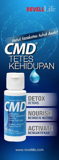 CMD Concentrated Mineral Drops - SBG INDONESIA
