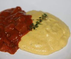 Recipe Creamy Polenta by learn to make this recipe easily in your kitchen machine and discover other Thermomix recipes in Side dishes. Dinner Side Dishes, Dinner Sides, Bellini Recipe, Polenta Recipes, Creamy Polenta, Gluten Free Breakfasts, Cereal Recipes, Palak Paneer, Food Dishes