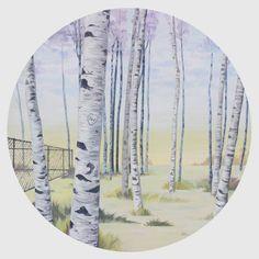 """Saatchi Art Artist Lauren Matsumoto; Painting, """"At the Forest Edge"""" #art"""