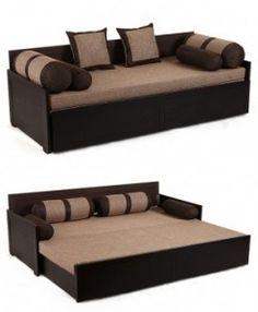 Diwan cum Bed #diwancumbed Sofa Cumbed Design, Living Room Sofa Design, Bedroom Bed Design, Bedroom Furniture Design, Bed Furniture, Home Decor Furniture, Living Room Designs, Sofa Come Bed, Sofa Bed