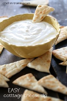 Easy Cottage Cheese Dip from chef-in-training.com ...this dip is SO easy and SO delicious!