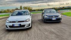 Golfperformancetour: Golf GTI e GTD in pista, video, confronto e telemetria