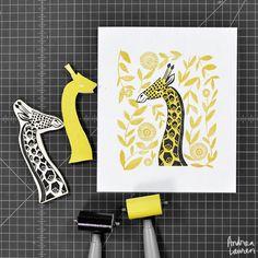 Andrea Lauren / Ink Print Repeat : Photo