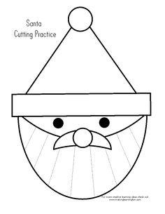 knipoefening kerstman/kun je natuurlijk ook een Sinterklaas van maken