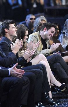 Rob, Kristen and Taylor