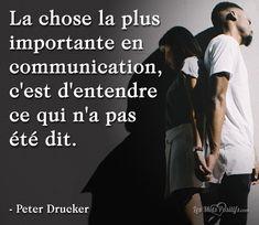 Prenez l'initiative d'ouvrir calmement la voie à une meilleure communication. Invitez la personne à vous faire part de son point de vue et écoutez-la attentivement. Enfin, ne vous laissez pas dépasser par vos émotions. Prenez soin de vous en faisant des choses que vous aimez, en vous détendant ou en mettant fin à une relation.... #citation #citationdujour #proverbe #quote #frenchquote #pensées #phrases #french #français