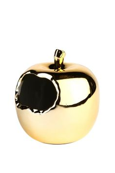 I just bought this awesome gold apple pen holder - I'm going to use it in the kitchen to hold teaspoons! From Typo Shop Pencil Holder, Pen Holders, Typo Shop, Apple Pen, Color Of Life, Brighten Your Day, Kids Outfits, Gemstone Rings, Stylish