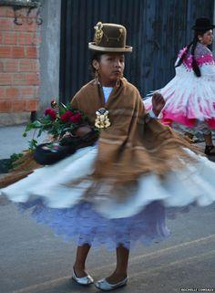 The rise of the 'cholitas'    Cholita at Malassa festival La Paz, Bolivia....native Aymara women rise up from discrimination