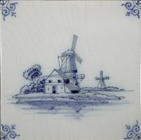Delft tiles, of all kinds. My dream kitchen has these running along the floor boards and behind the stove range.