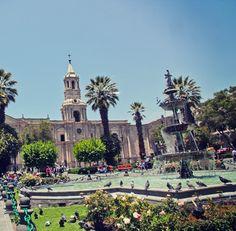 Arequipa, segunda maior cidade do Peru