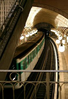 Paris métro - one of the most easily navigable subways in the world. Each stop is an experience of its own, and that's just below ground. I love the Paris metro Beautiful Paris, Most Beautiful Cities, Paris Travel, France Travel, Monuments, My Little Paris, Paris Metro, Moscow Metro, S Bahn