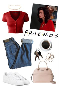 Monica Geller Outift Outfit & ShopLook Monica Geller Outift # 4 Outfit & ShopLook The post Monica Geller Outift # 4 Outfit Hipster Outfits, Mode Outfits, Grunge Outfits, Vintage Outfits, Retro Outfits, Casual Outfits, Vintage Costumes, Mode Old School, 90s Inspired Outfits