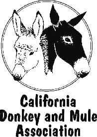 Courtesy: California Donkey & Mule Association (CADAMA) California (USA).