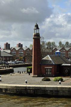 Ellesmere Port Lighthouse, Merseyside, England