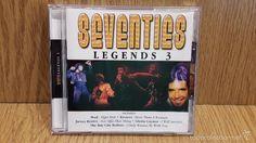 SEVENTIES. LEGENDS 3. IMPORT CD / MUSICBANK - 2003. 20 TEMAS / CALIDAD LUJO.