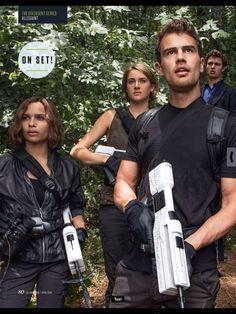 Movies The Divergent Series Allegiant Divergent Scans SFX Shailene Woodley Theo James