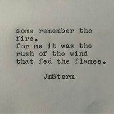 My love is fire n ur the wind