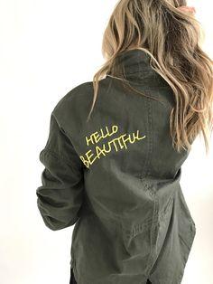 Hello Beautiful Cargo Jacket