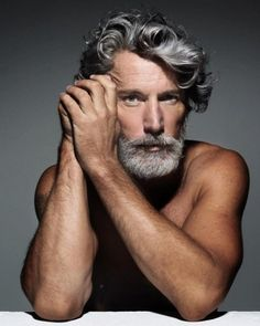 Bjorn, although not quite as semi-blond and one-eyed as I picture him (model Aiden Shaw)