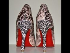 """I'm sharing a video on how I added the red soles to my shoemint  snakeskin pumps using a bottle of Wet n Wild Nail Polish in """"I Red a good book""""  To check out Shoemint: http://shmnt.co/OgV29K"""