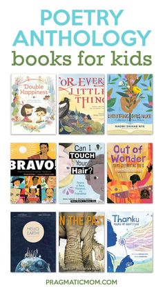 Poetry Anthology Books for Kids & GIVEAWAY!