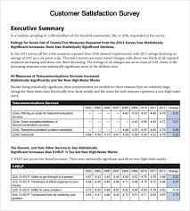 Survey Created From Sample Questionnaires For Various Kinds Of