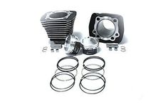 1200cc Cylinder and Piston Conversion Kit Black For Harley Sportster XL 1986-03 #VTwinManufacturing