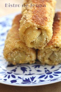 Crêpes farcis à la viande (La recette polonaise de Krokiety) INGREDIENTS: Pour les crêpes: 200 g de farine 60 g de beurre fondu 2 oeufs 500 ml de lait pincée de sel ________________________ A l'aide d'un mixeur mélanger tous les ingrédients. Cuire les...