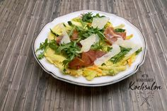 Mein wunderbarer Kochsalon Omelette, Prosciutto, Tacos, Mexican, Ethnic Recipes, Food, Credenzas, Cooking, Simple