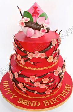 Painted Tinghun Cakes tinghun paintedcake peony Wynnes Cake
