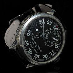 Men's 1912 IWC INTERNATIONAL WATCH Co SCHAFFHAUSEN Vintage REGULATEUR Watch C.52