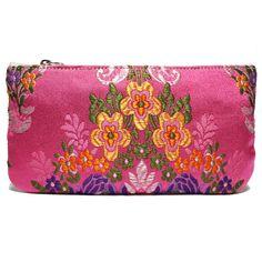 portatodo fallera @ con detalles florales, realizados en tela de seda y cuero. fallera bag with floral pattern. #bag #clutch #bolso http://fallera.com/es/bolsos/bc002010-detail
