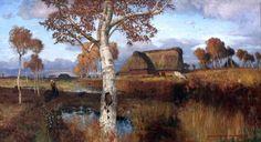 Otto Modersohn - Autumn on the Moor [1895] | Flickr - Photo Sharing!