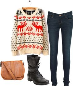 """Christmas evening"" by kendra-rose on Polyvore"
