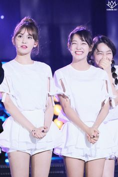 I.O.I SoMi and SeJeong