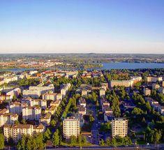 ...view from tower at Särkänniemi amusement park in Tampere, 2005. #finland🇫🇮 . . #visittampere #sarkanniemi #finland #myBFF🇫🇮 #mybigfatfinnishportfolio #photography #buildings #urban #landscape #city #igersfinland #tammerfors #finlandia #weareinfinland #tampere #architecture #design #europe #芬蘭 #apartmentblock #finlandia #northerneurope