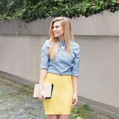 Sew Your Own Pencil Skirt in Less Than 30 Minutes | Brit + Co