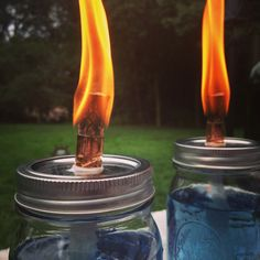 DIY Citronella Candles photo