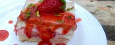 Erdbeerkuchen Strawberry Fields, Food Cakes, Cake Recipes, French Toast, Pancakes, Cheesecake, Food And Drink, Pudding, Breakfast