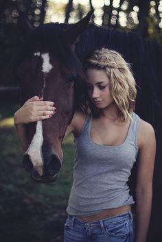 Girl  ❤ Horse