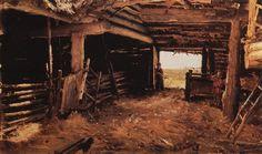 Paintings (mostly): Photo Ilya Repin, Post Impressionism, Mans World, Farm Yard, Russian Art, The World's Greatest, Traditional Art, Love Art, Great Artists